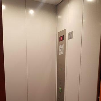 Liftmodernisierung Liftkabine