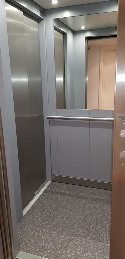 Neuanlage Liftkabine