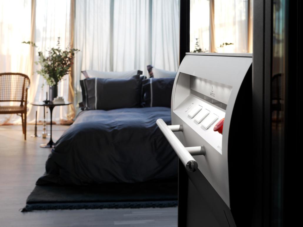 Homelift im Schlafzimmer