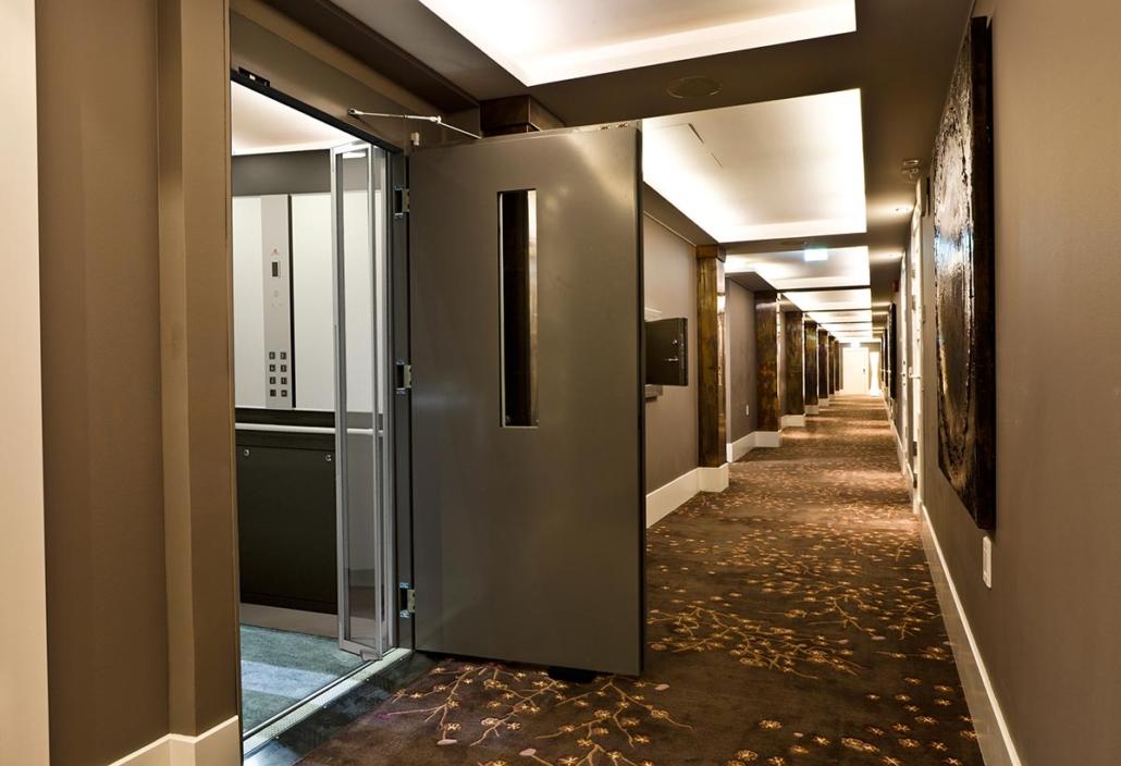 Lift für Hotel einbauen
